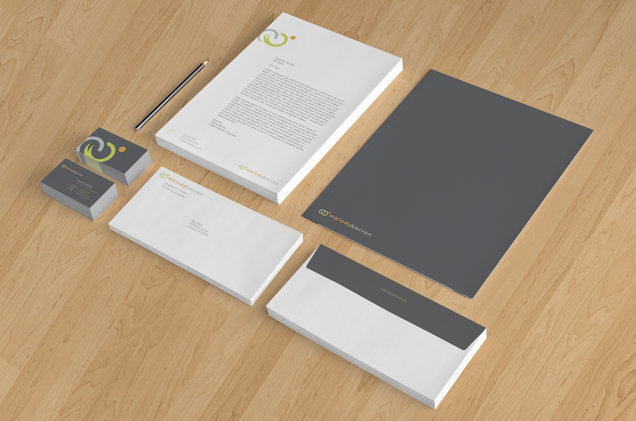 Freelance Atlanta Graphic Designer Stationery Design