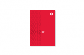 Student Work: Target Annual Report