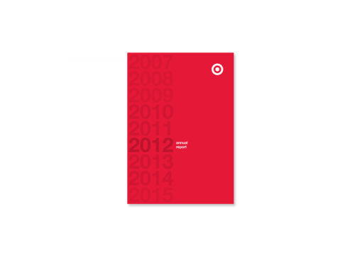 Target Annual Report Cover Design