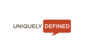 Uniquely Defined Logo & Website